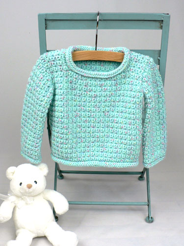Free Crochet Pattern For Easy Baby Sweater : FREE BABY CROCHET SWEATER PATTERNS Free Patterns