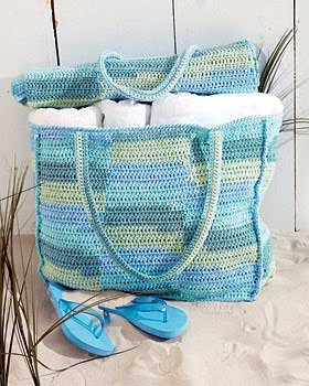 Crochet Pattern Central - Free Tote Crochet Pattern Link