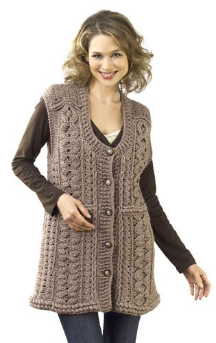 Free Crochet Patterns - Vests - 92 Crochet Patterns and Knit Patterns