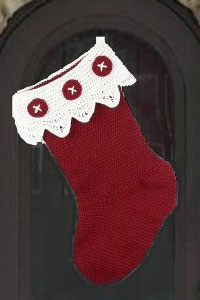 Basic Christmas Stocking Crochet Pattern: Make a Very Simple