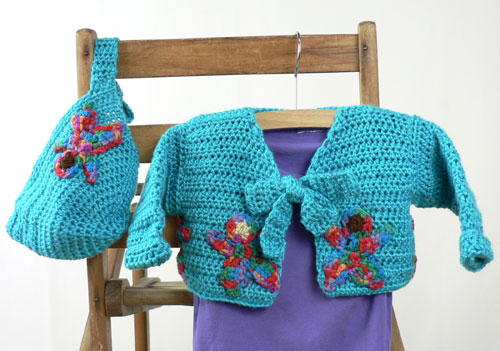 Crochet Colorful People Baby Set