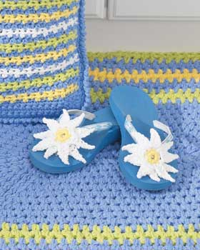 Free Flip Flop Quilt Pattern - crochet with passion