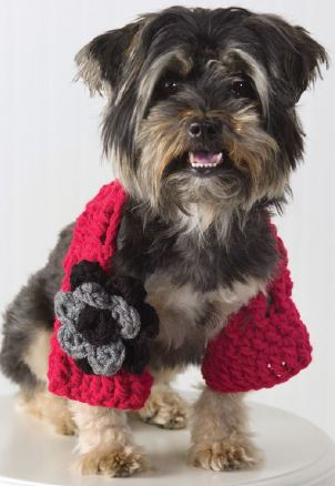 Crochet Dog Shrug