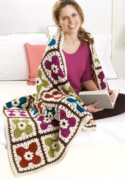Crochet Afghans: More Free Patterns for crocheting