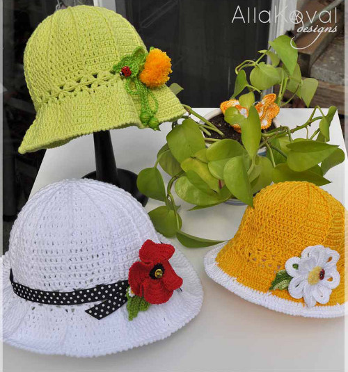 in the mother s day crafts blogger edition 2010 ebook Mother's Day Crochet Hats Patterns For Free