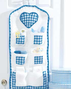 Crochet Hanging Storage for Baby