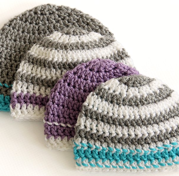 Crochet Hat to Donate