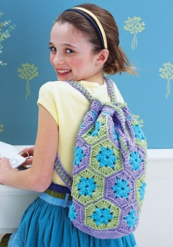 Crochet Hexagon Bag