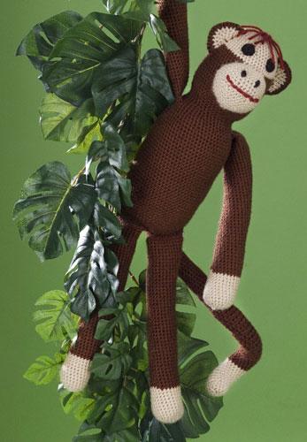 Free Amigurumi Sock Monkey Crochet Pattern : 11 Free Crochet Kids Patterns: How to Make a Sock Monkey ...