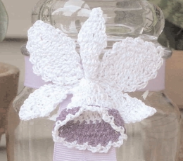 Crochet Orchid Flower