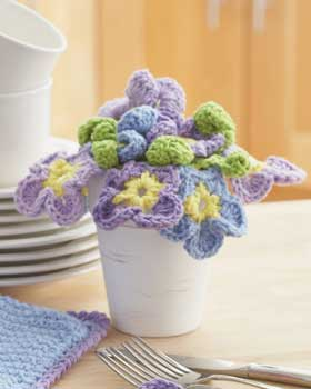21 Free Crochet Flower Patterns