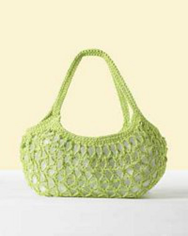 Everyday Market Bag Crochet Purse Pattern FaveCrafts.com