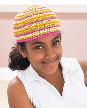 Fun Crochet Cap for Kids