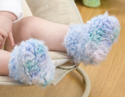 How to Crochet Baby Booties | eHow.com
