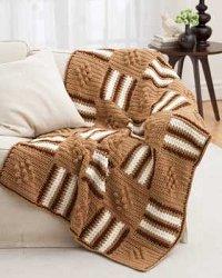 Crochet Tweed Afghan