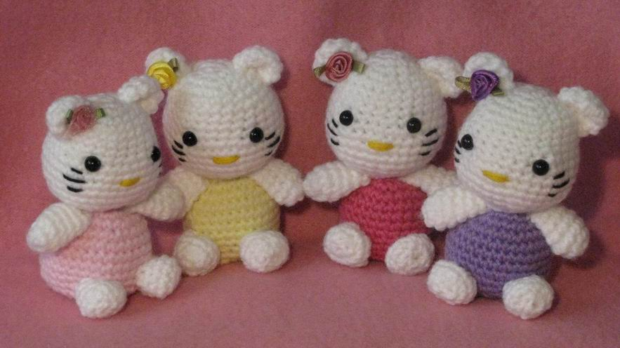 Free Amigurumi Hello Kitty Pattern « RoboTrish