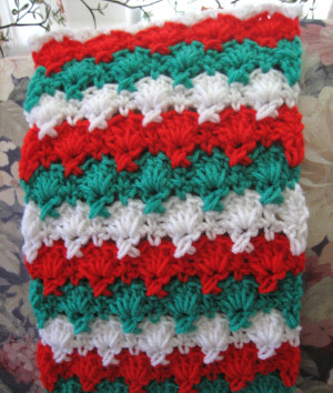 Holiday Criss Cross Scarf