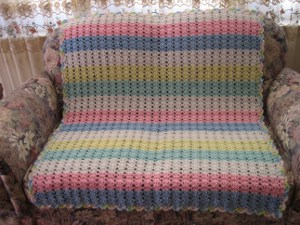 ONE SKEIN BABY BLANKET PATTERN Sewing Patterns for Baby