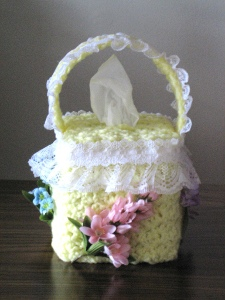 Lacy Flower Basket