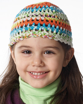 Light Crochet Hat for Kids