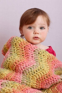 Ombre Baby Ripple Afghan