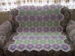 Peppermin Candy Afghan