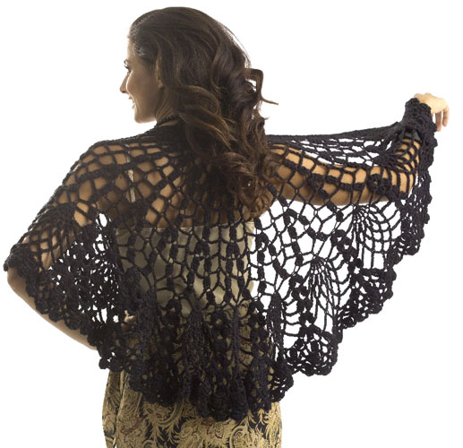 CROCHET PATTERNS FOR SHAWLS – Crochet Club