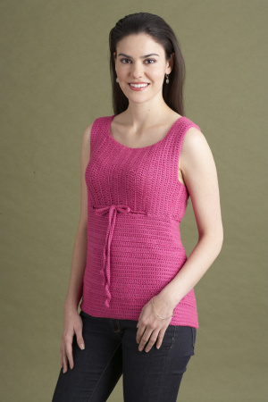 Crochet Empire Waist Tank