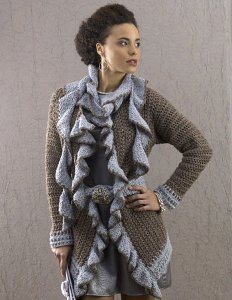 Free Crochet Zen Jacket Pattern : FREE CROCHET PATTERNS BLAZER JACKET - Crochet and Knitting ...