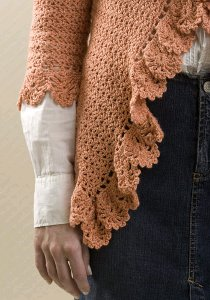 Ruffled Crochet Cardigan 3