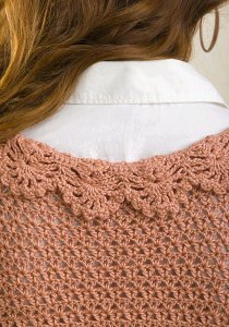 Ruffled Crochet Cardigan 5