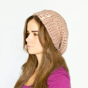 Midwesterner's Crocheted Slouchie Beanie