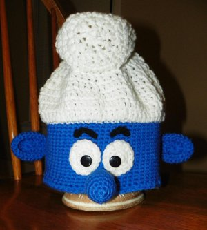 Blue Smurf Hat