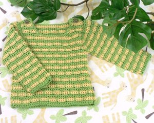 Striped Baby Sweater 3