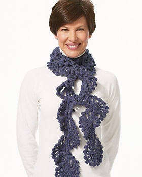 Free Knitting Pattern For Twisted Scarf : 30 Crochet Scarves Patterns + Photos