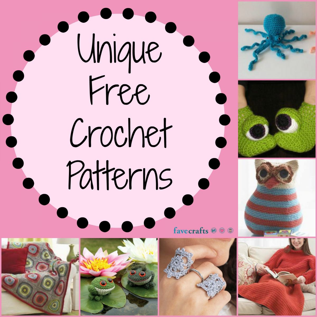 unique free crochet pa...