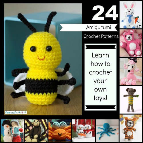 24 Free Amigurumi Crochet Patterns