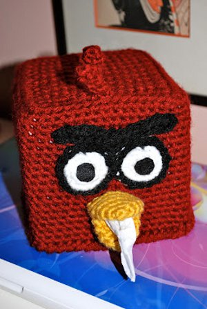 Angry Birds Tissue Box