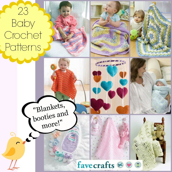 23 Baby Crochet Patterns