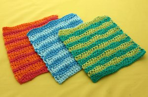 Catch a Wave Dishcloth