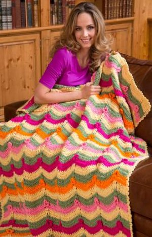 Colors of the Wind Afghan Crochet Blanket Patterns
