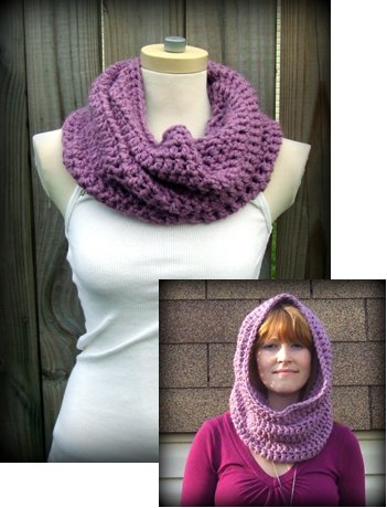 Crochet Free Pattern Hooded Cowl Dancox For