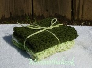 Crochet Dish Cloth Gift Set