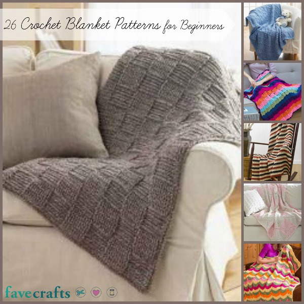 Crocheting Projects For Beginners : ... crochet blanket patterns crochet patterns for beginners easy crochet