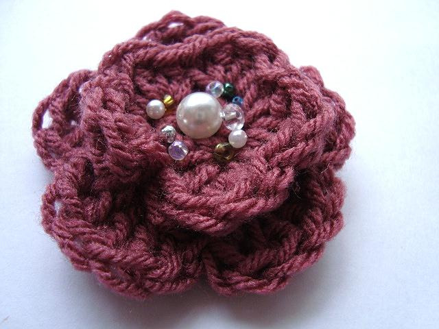 Crochet Patterns Of Flowers : ... crocheted flower pattern easy crochet flower easy crochet flower