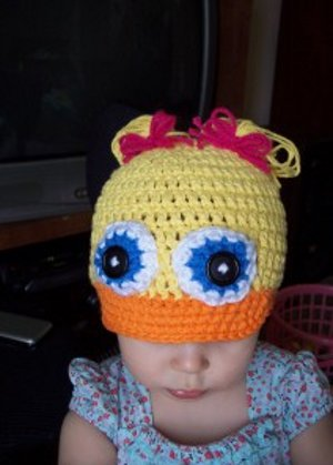debbie duck hat