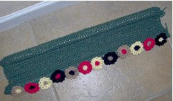Broom Handle Draft Dodger - Crochet Me