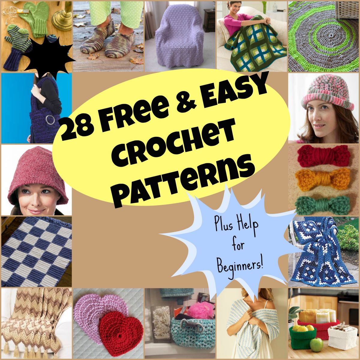 Free Easy Crochet Patterns