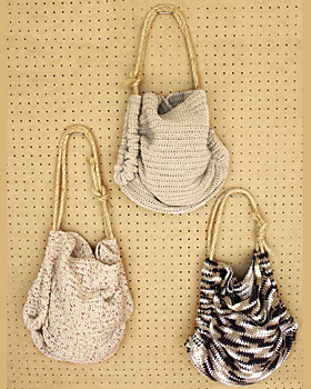 Free Crochet Pattern: Fast Tote Bag