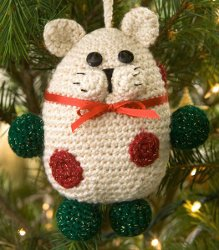 Cute Kitty Ornament